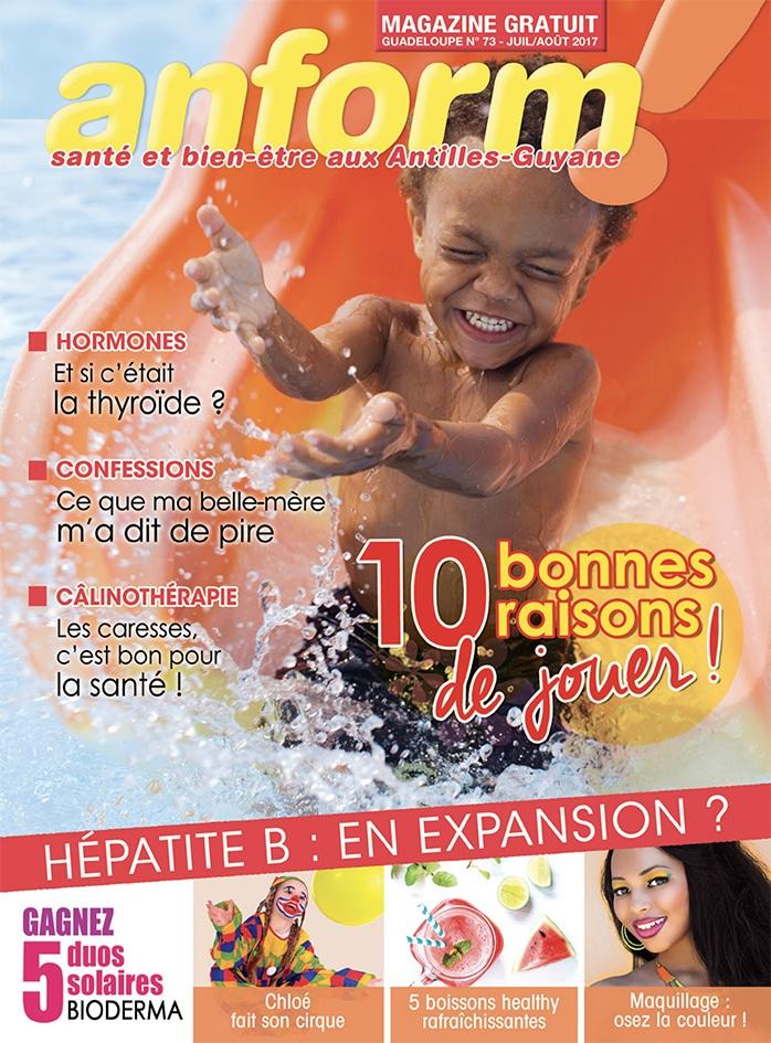 Magazine Anform - Antilles Guyane sante bien-etre 73