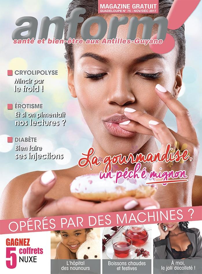 Magazine Anform - Antilles Guyane sante bien-etre 75