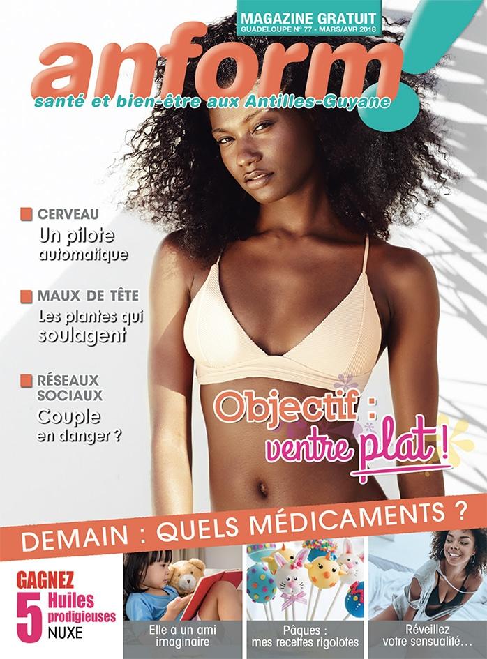 Magazine Anform - Antilles Guyane sante bien-etre 77