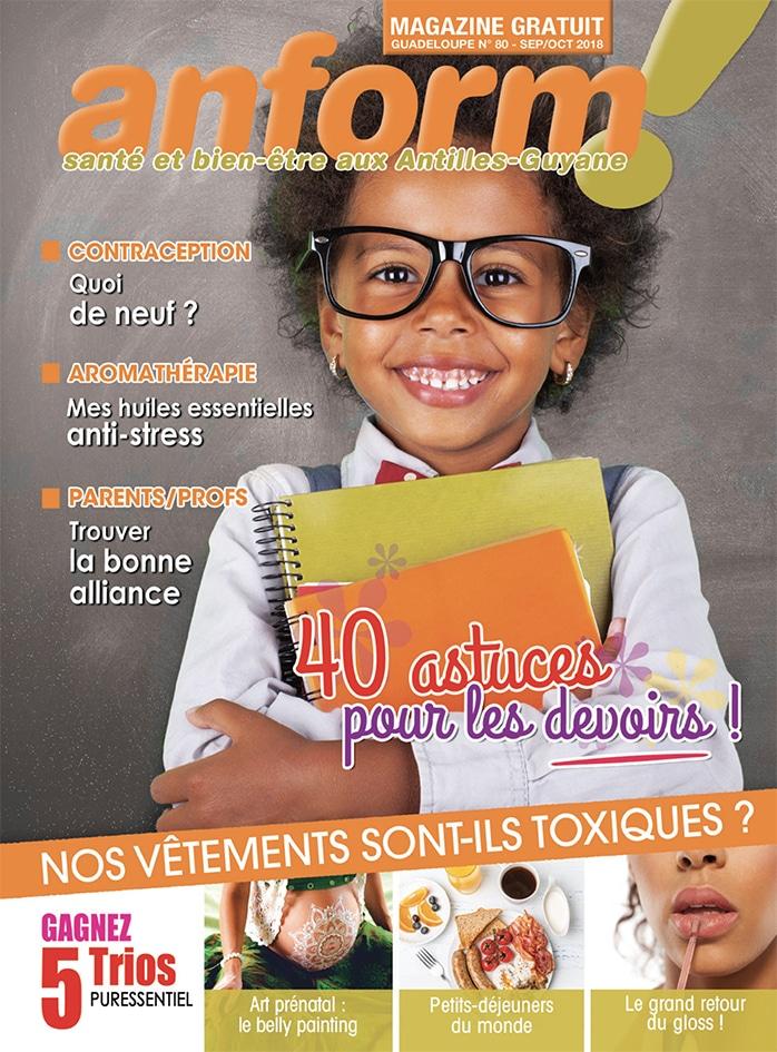 Magazine Anform - Antilles Guyane sante bien-etre 80