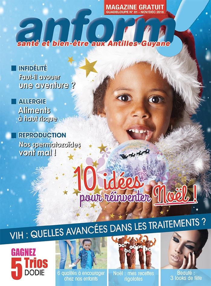 Magazine Anform - Antilles Guyane sante bien-etre 81