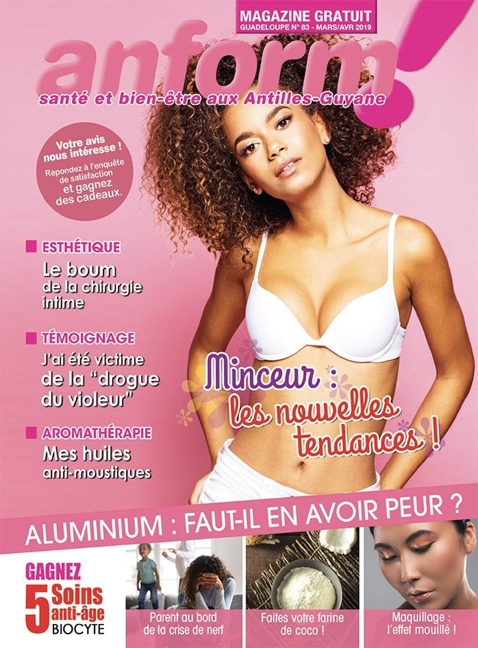 Magazine Anform - Antilles Guyane sante bien-etre 83