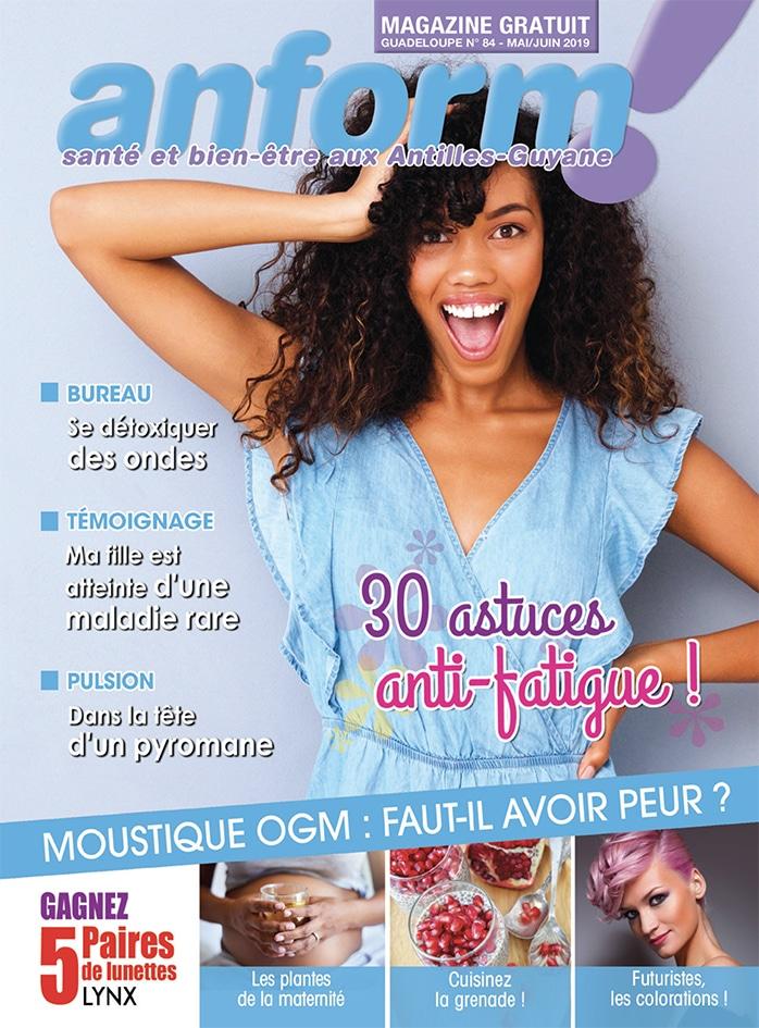 Magazine Anform - Antilles Guyane sante bien-etre 84