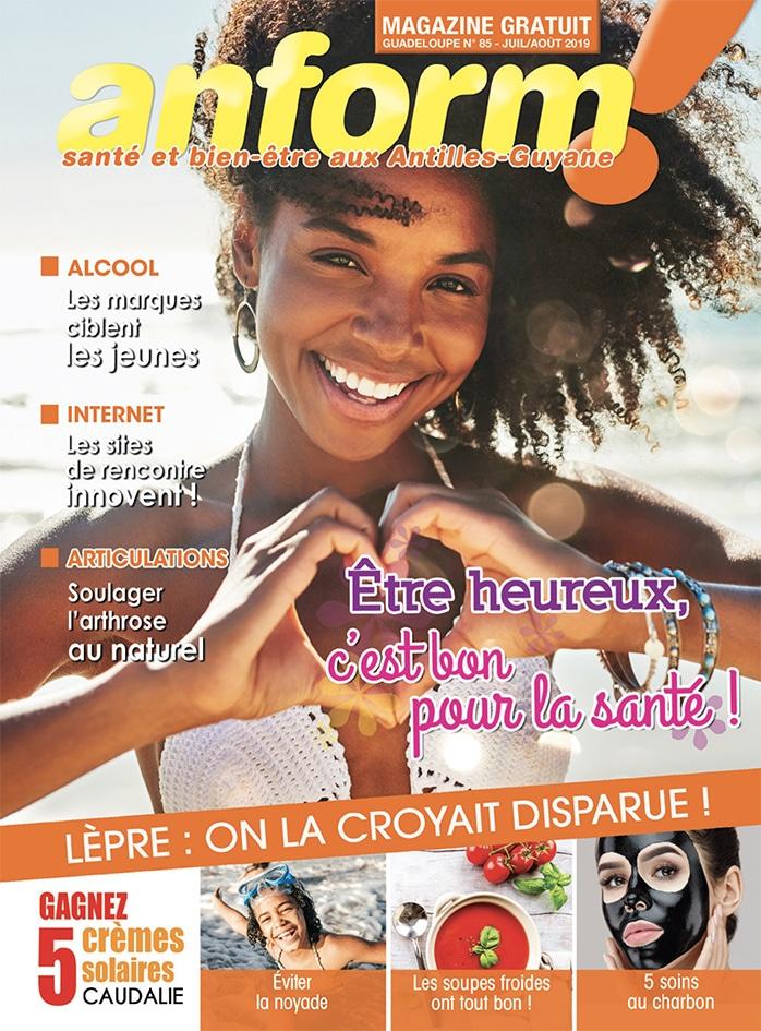 Magazine Anform - Antilles Guyane sante bien-etre 85
