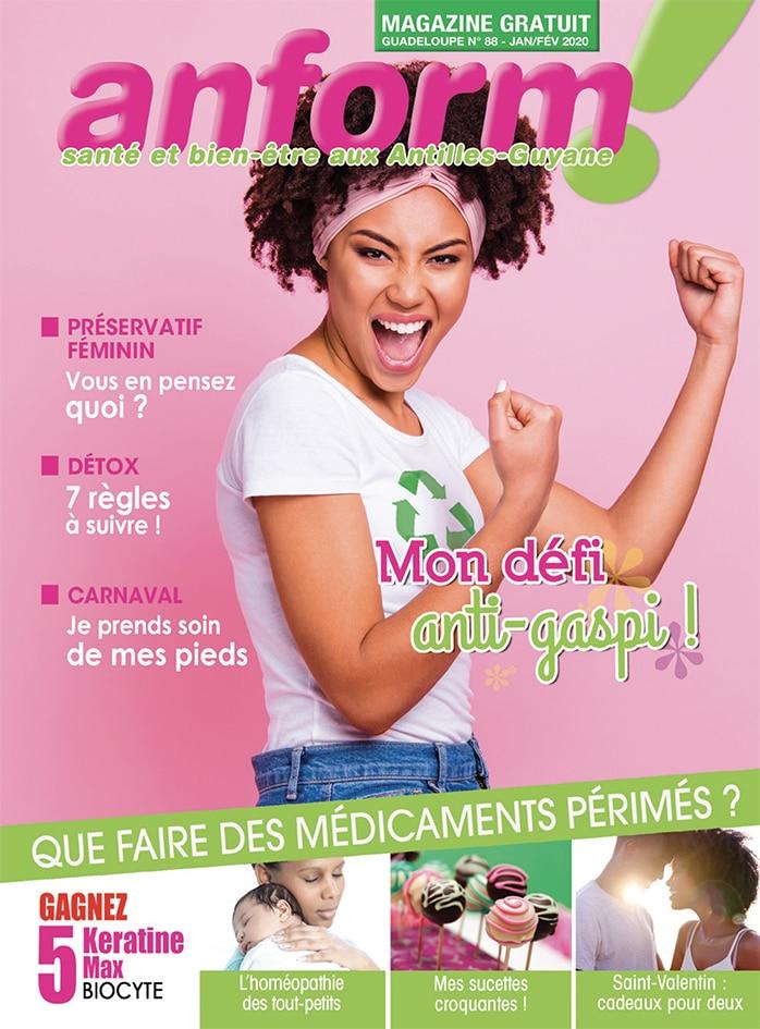 Magazine Anform - Antilles Guyane sante bien-etre 88