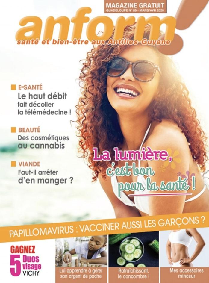 Magazine Anform - Antilles Guyane sante bien-etre 89