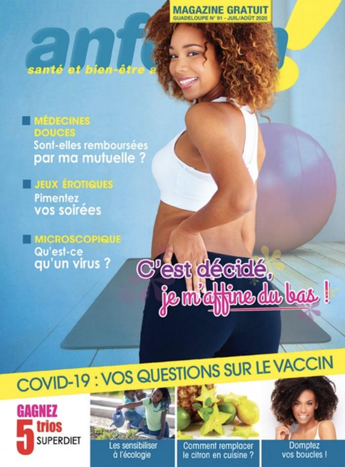 Magazine Anform - Antilles Guyane sante bien-etre 91