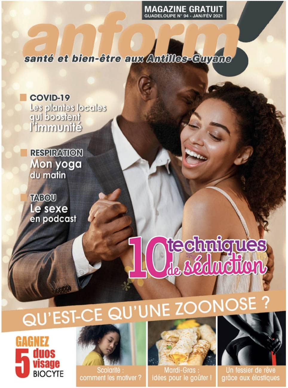 anform magazine santé bien-être couverture 94