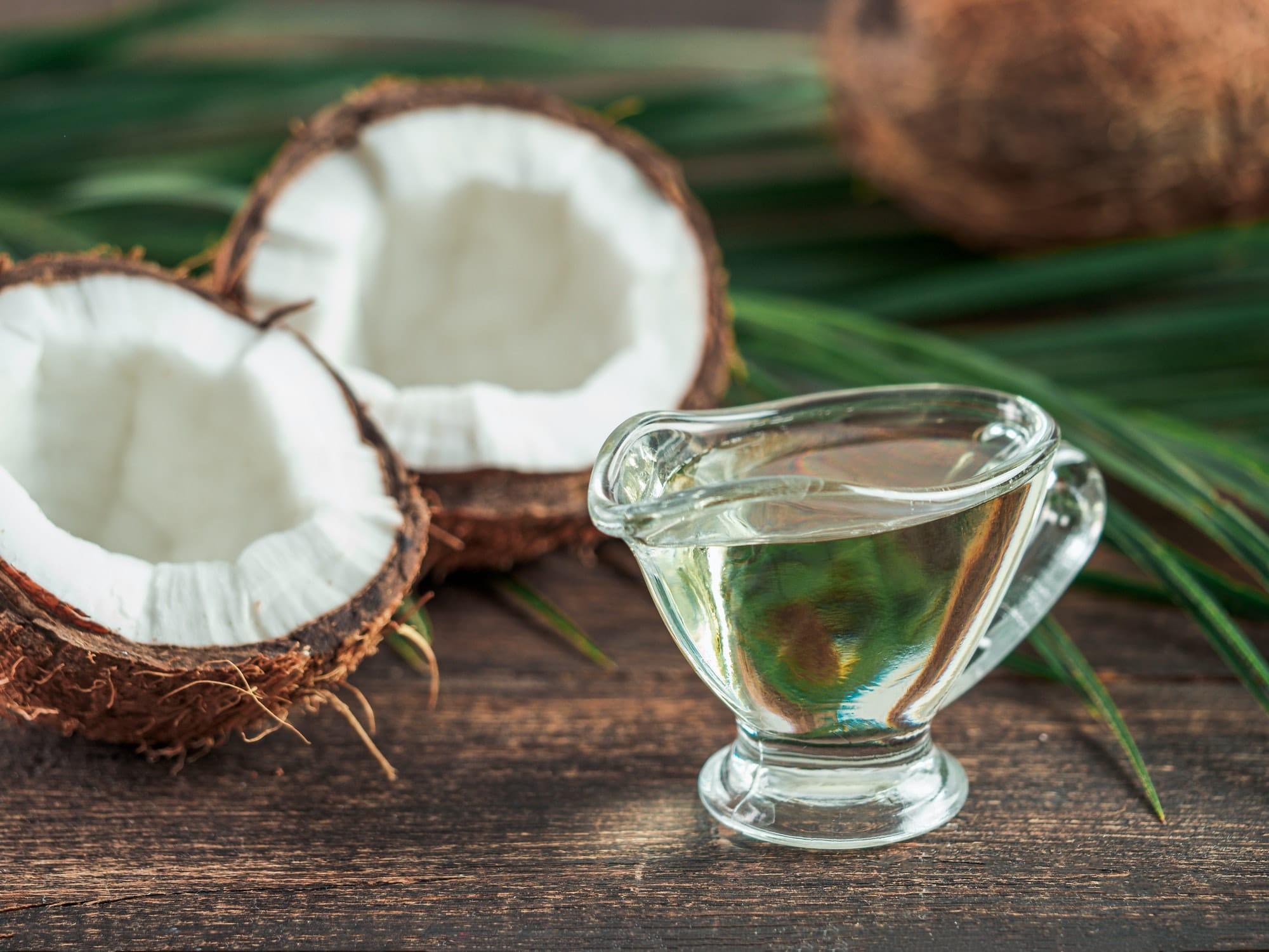 huile coco minceur