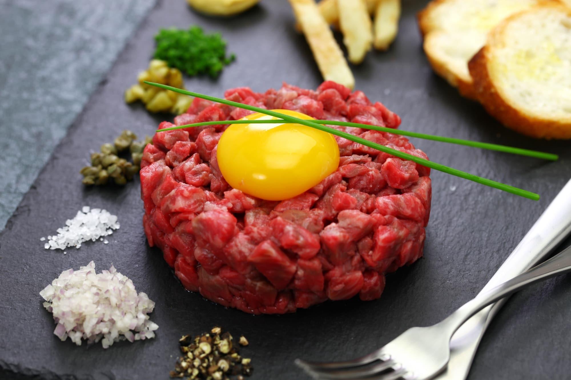 Tartare de boeuf recette anform magazine santé bien-être