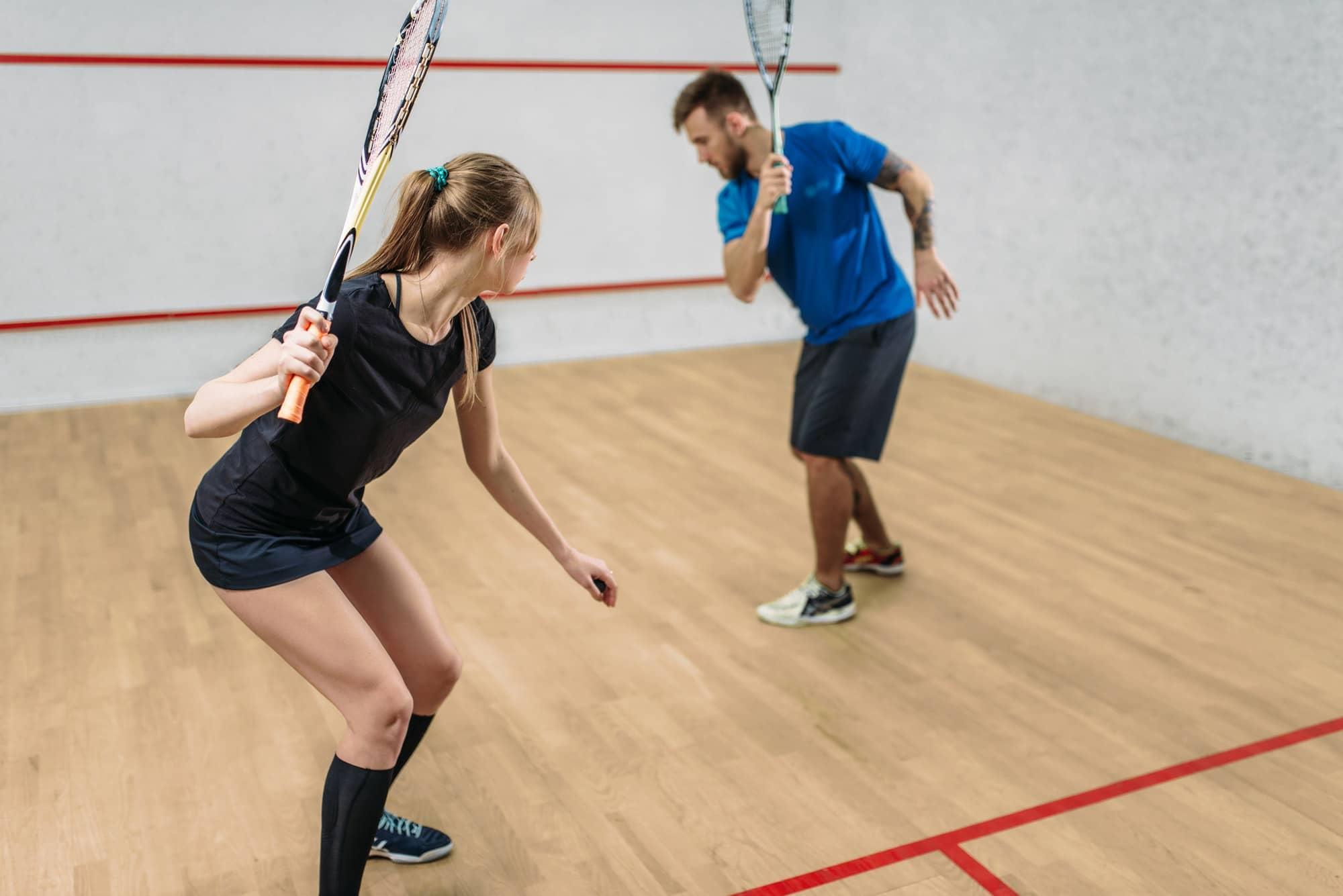 5bonnes raisons de faire du squash!