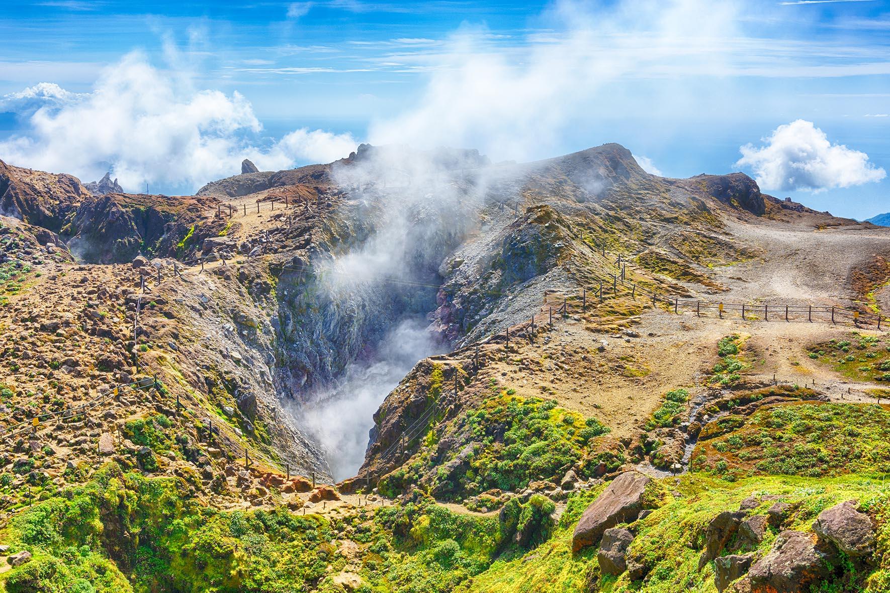 Soufrière: peut-on prédire une éruption?
