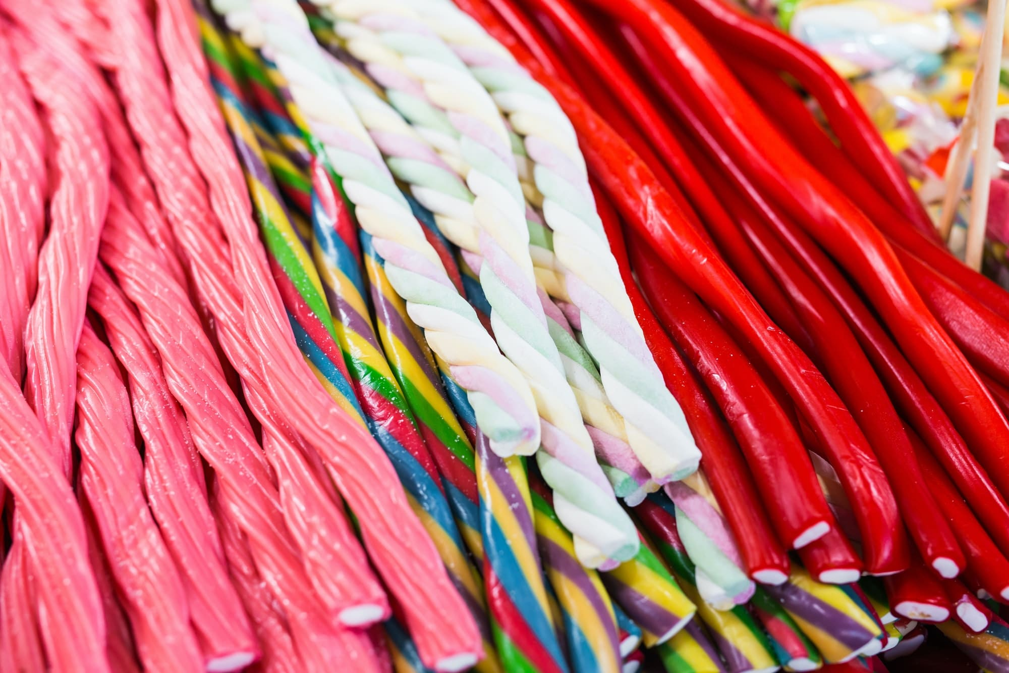 Wonderful candy sticks in any color and appearance