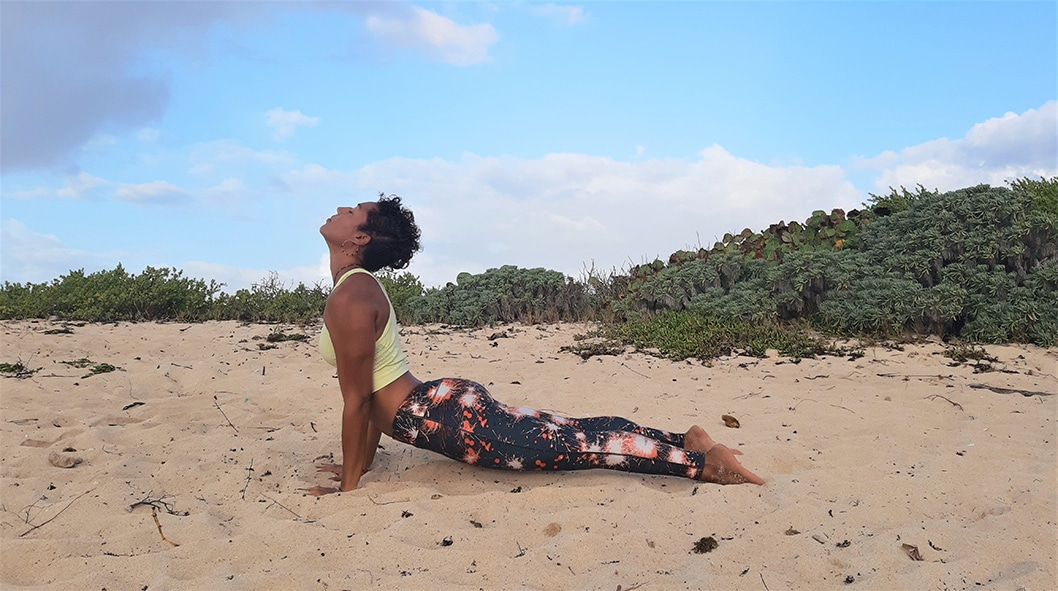 Yoga : la salutation au soleil