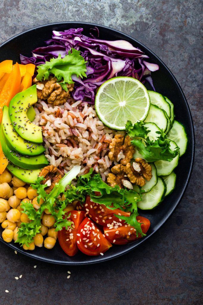 Buddha bowl healthy bien manger nutrition