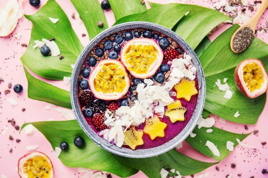 acai bawl super-fruit anti-oxydant