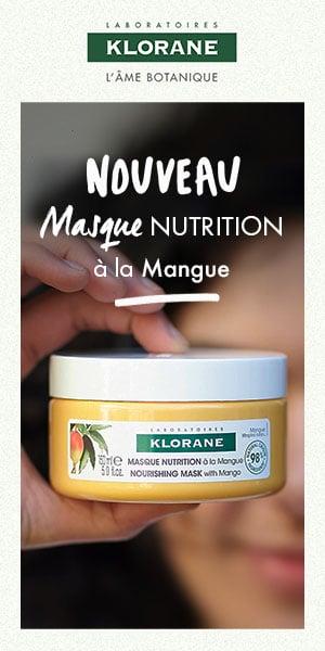 WA - Pub Juin - Klorane masque cheveux mangue anform magazine pub