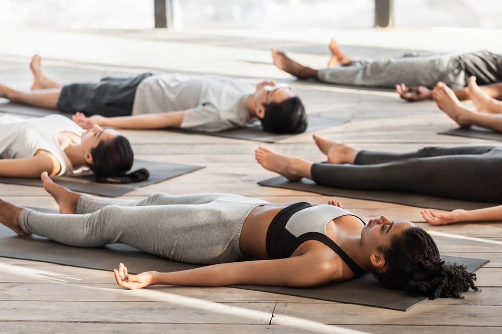 yoga anform magazine Savasana
