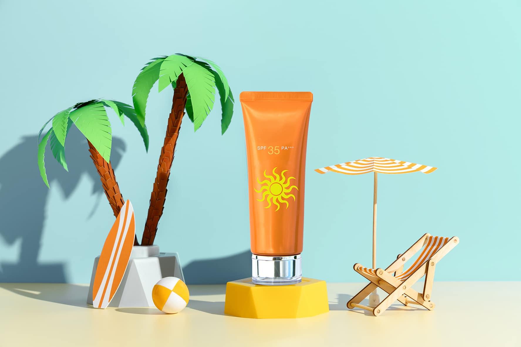 Des crèmes solaires bonnes pour la nature