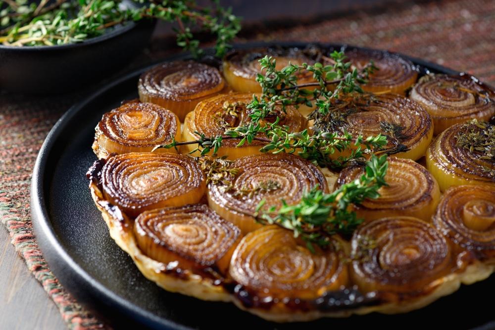 tarte tatin oignons caramelise revisitee recette anform magazine