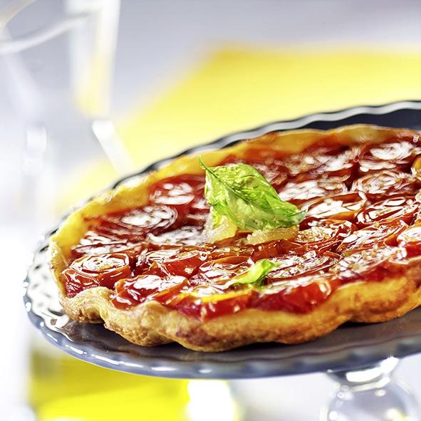 tarte tatin tomate cerise revisitee recette anform magazine