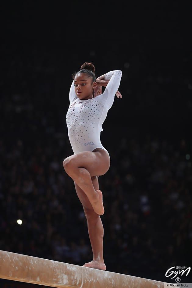 Melanie jesus dos santos jo tokyo gymnastique