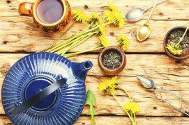 Dandelion herbal tea